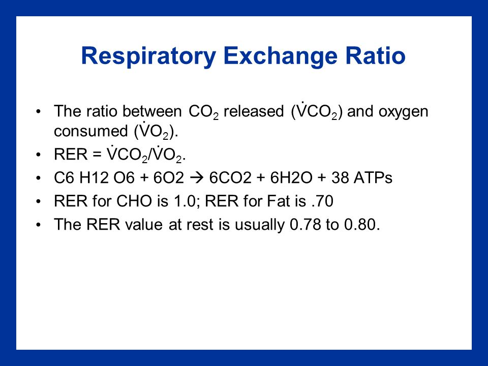 how to find vo2 from vco2