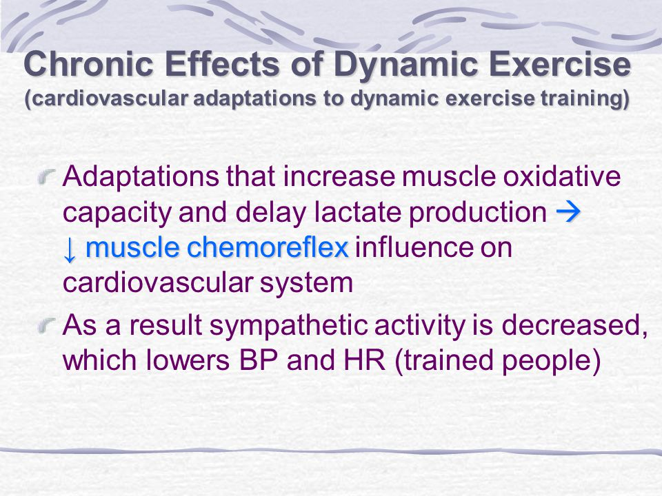 effect of exercise on cardiovascular system pdf