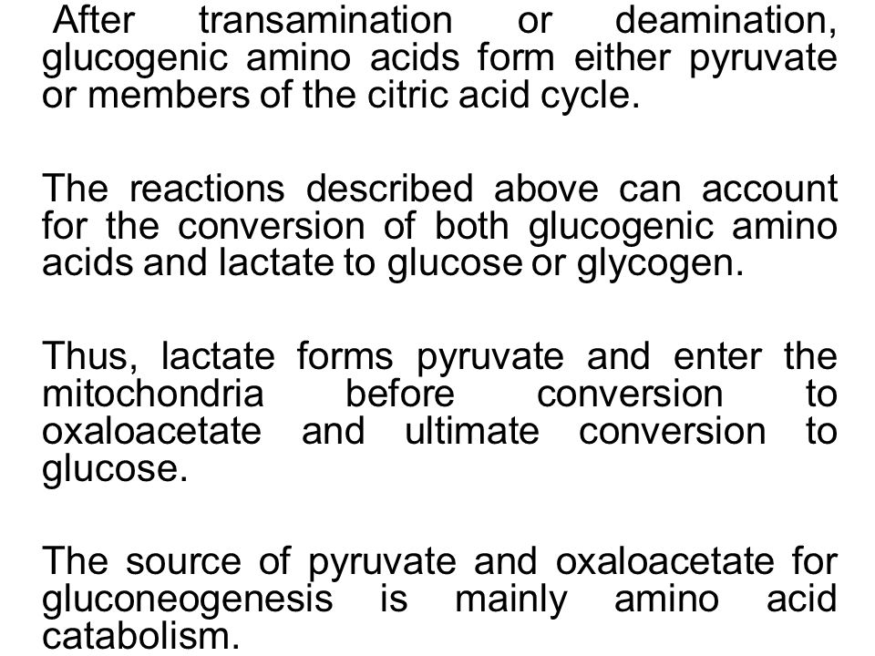 transamination and deamination of amino acids pdf