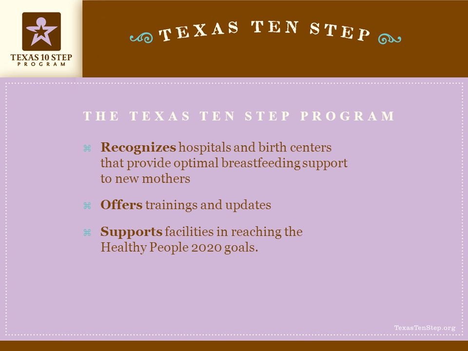 the texas ten step program