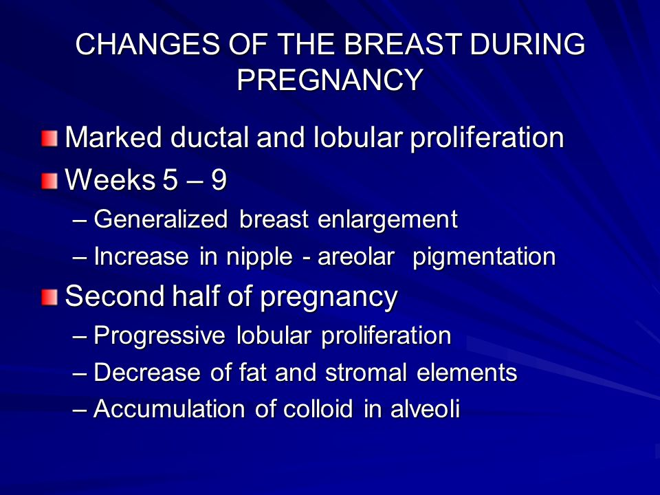 The Breast During Puberty Pregnancy And Lactation Ppt
