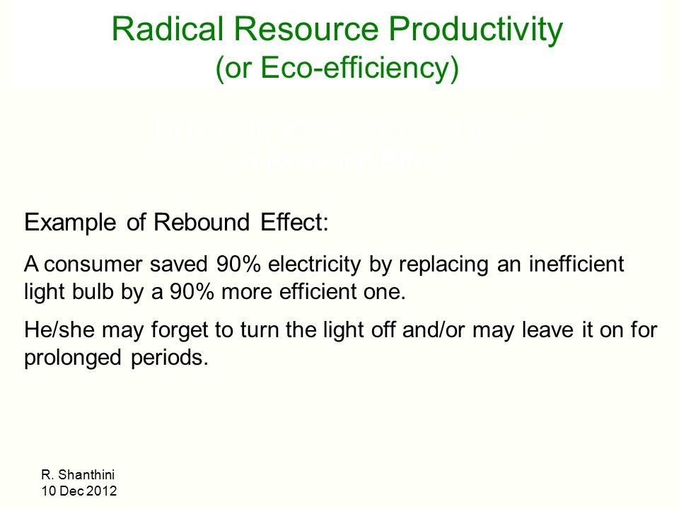 Electricity Rebound Effect