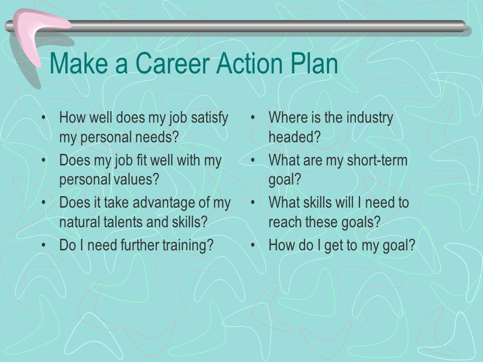 personal career action plan - Kubre.euforic.co