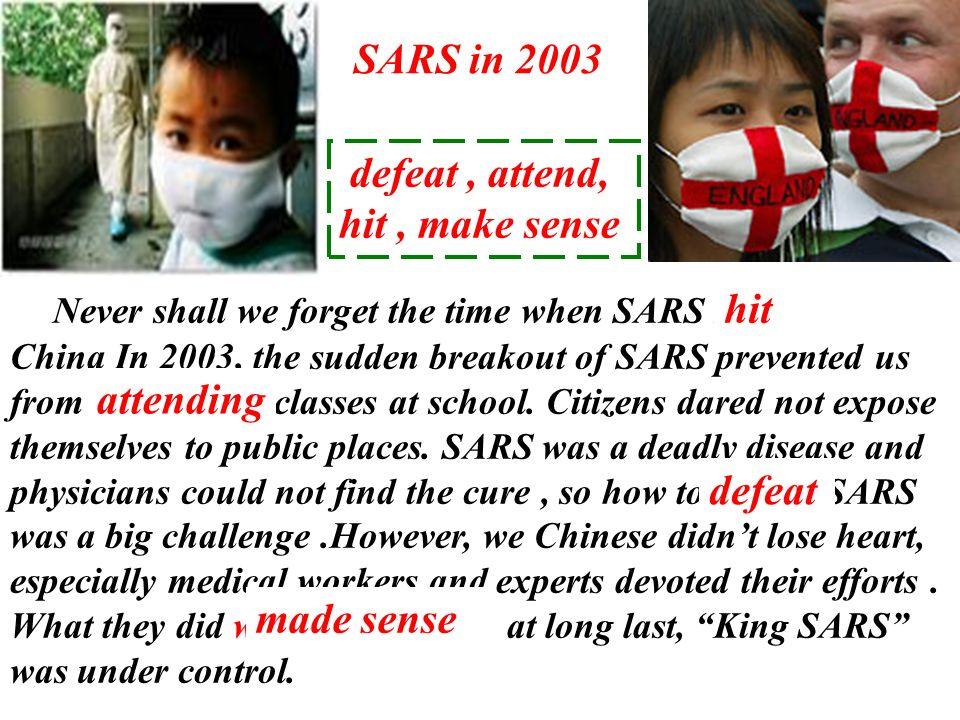 Never shall we forget the time when SARS struck hit