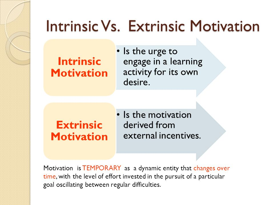 Intrinsic Motivation – A Case Study in Nursery