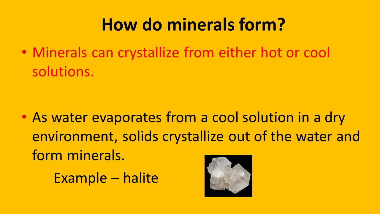 Lesson 1 What is a mineral? Pages ppt video online download