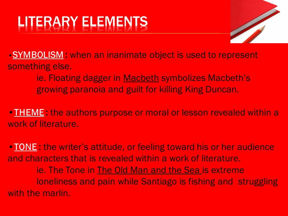 writing a critical lens essay ppt video online  literary elements •symbolism when an inanimate object is used to represent something else