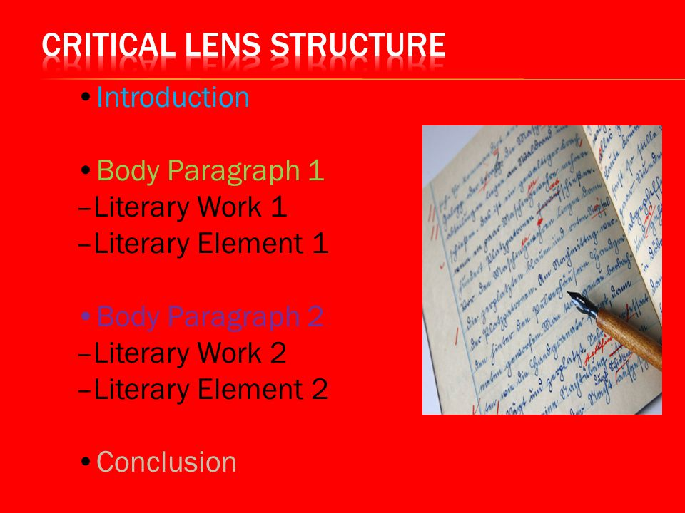 Critical Lens Essay: Main Rules for Writing a Good Work