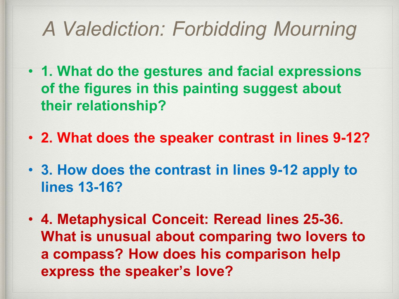A Valediction Forbidding Mourning By John Donne Summary And Analysis