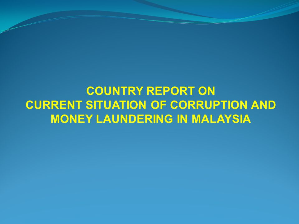 the theme of corruption of money The african union (au) has marked 2018 as the african anti-corruption year, with the theme of winning the fight against corruption: a sustainable path to africa's transformation anti-corruption activists and organisations across the continent will be happy to hear this.