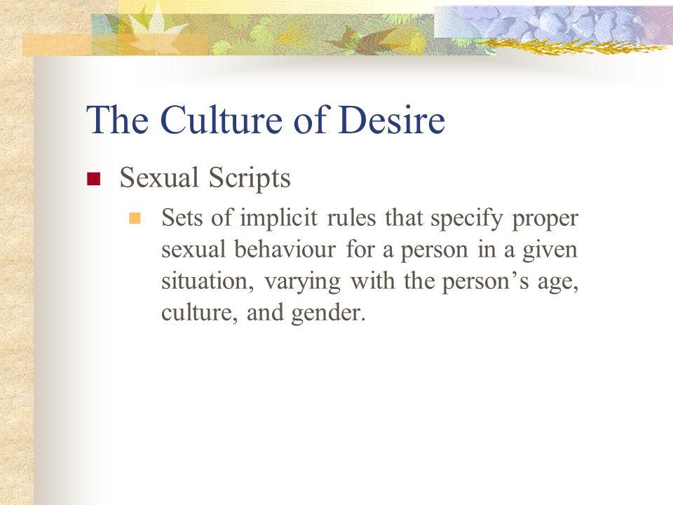 Sexual desire across cultures