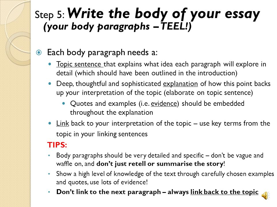 writing the body of an essay pdf Looking to write a strong essay body see how well you know the components of the body of an essay with this helpful interactive quiz and printable.