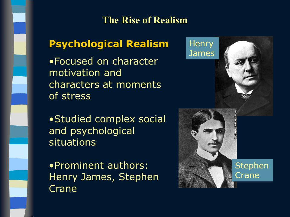 psychology realism Participants primed with realism were twice as likely to be  vanilla), rather than  objective facts, moral values may depend on the psychology of an individual.