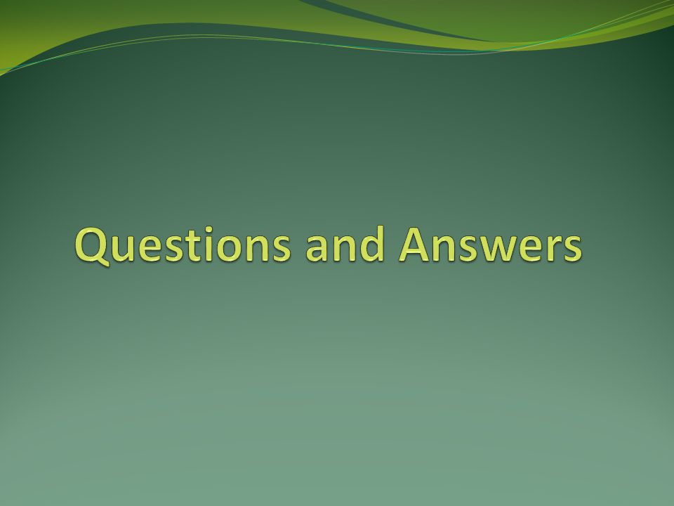 Questions and Answers SANDRA – BEGIN Facilitate Q&A