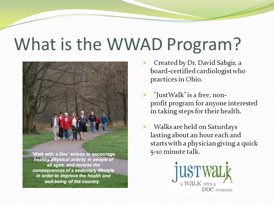 What is the WWAD Program