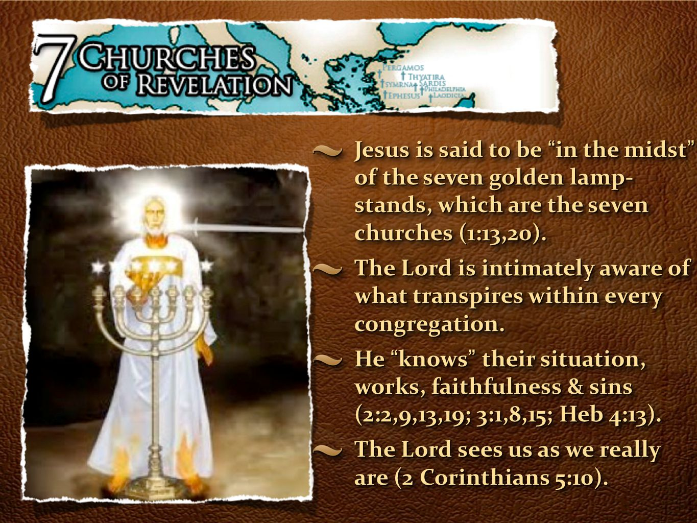 Revelation 3:7-13 The Church of Christ In - ppt download for Seven Golden Lampstands  570bof