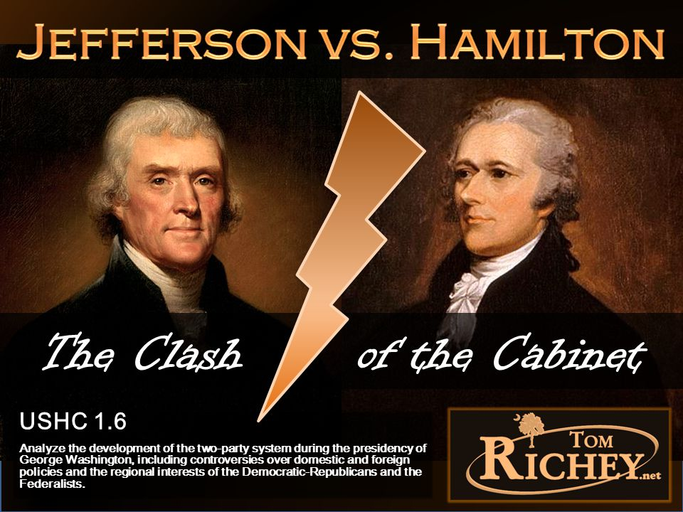 a comparison between jefferson and hamiltons opinions of the newly formed country The essential disagreement between hamilton what were the differences between hamilton and jefferson what was the disagreement between hamilton and jefferson.