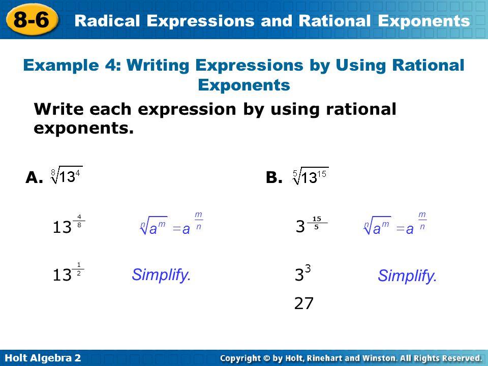 8-6 Warm Up Lesson Presentation Lesson Quiz - ppt video ...