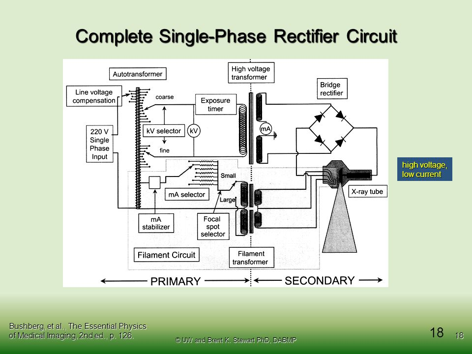 Complete Single-Phase Rectifier Circuit