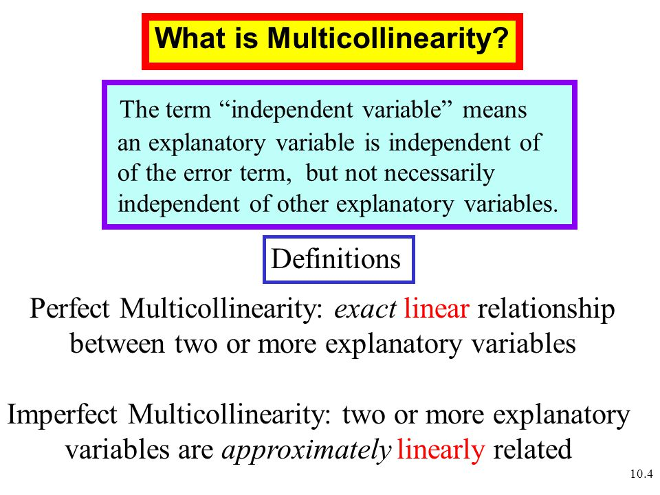 how to choose explanatory variables