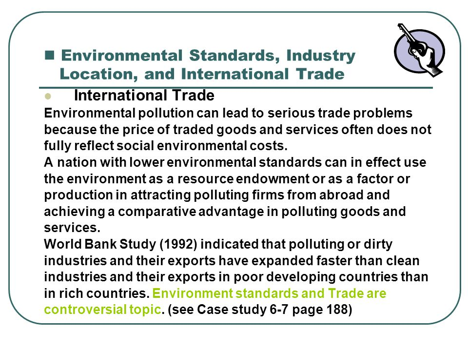 how does international trade affect the environment pdf