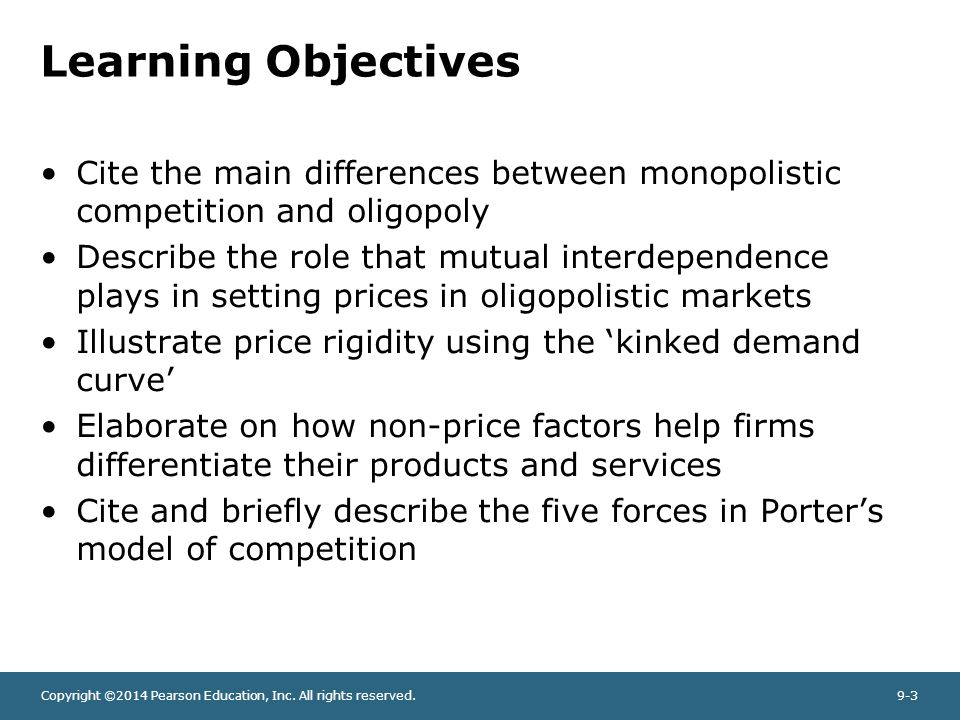 Difference between monopoly pricing and competitive pricing essay