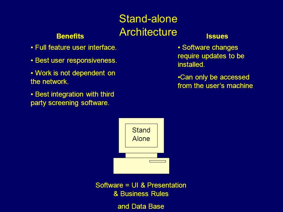 Stand-alone Architecture