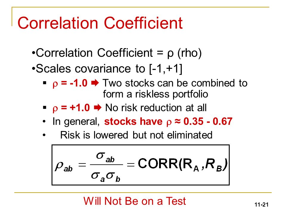 covariance and correlation coefficient relationship quizzes