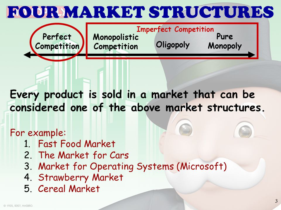 imperfect competition Definition of imperfect competition: any departure from perfect competition however, imperfect competition usually refers to one of the market.