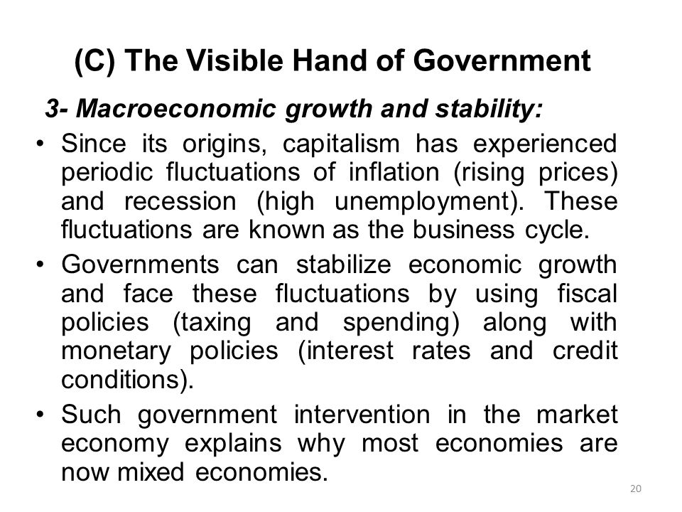 state capitalism the visible hand Musacchio, aldo, sergio g lazzarini state owned enterprises as  chinese exceptionalism or new varieties of state capitalism regulating the visible hand.