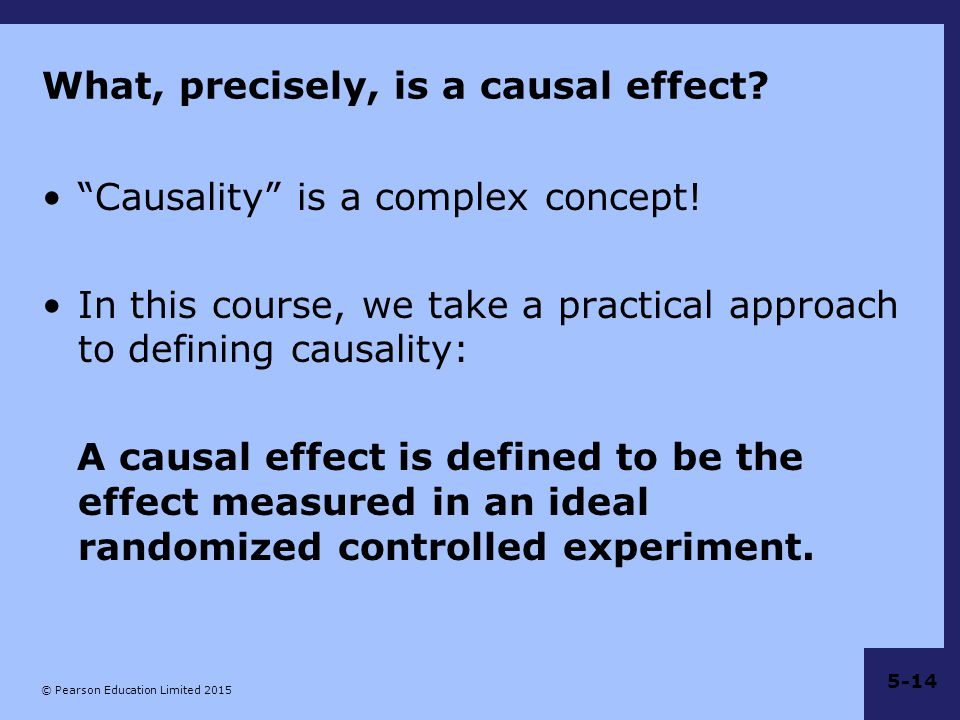 What, precisely, is a causal effect