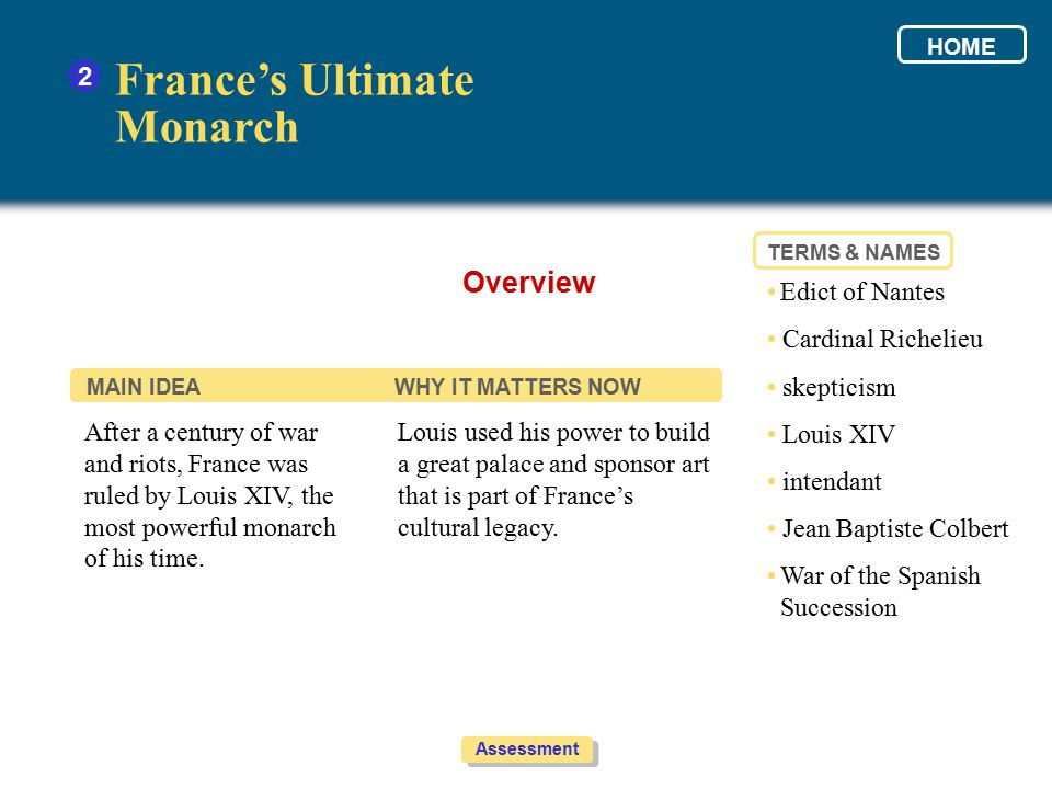 France's Ultimate Monarch Overview 2 • Edict of Nantes