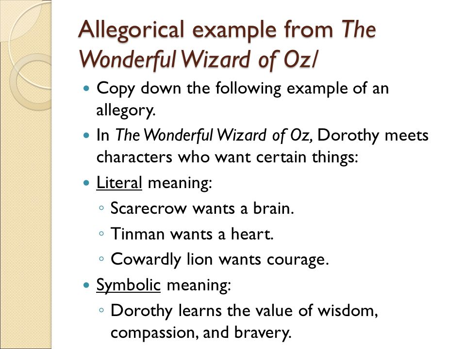Political Symbolism in The Wonderful Wizard of Oz