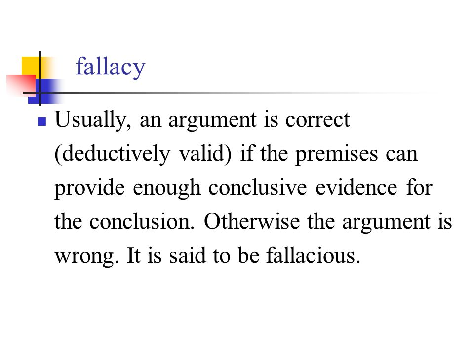 fallacy essay This lesson will introduce you to the logical fallacy and explain how it works in an argument we'll also discuss examples of common fallacies and.