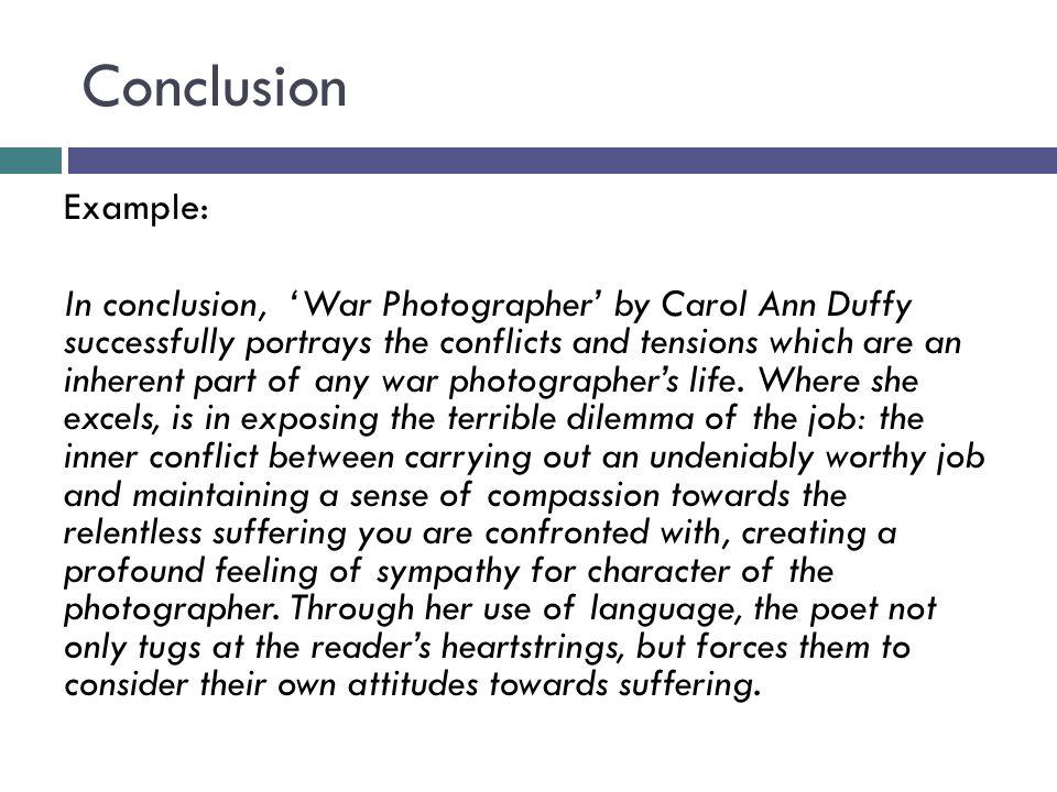 Compassion essay conclusion