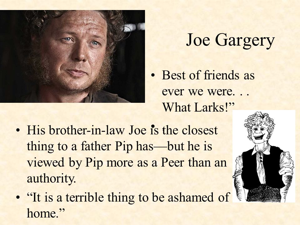 pip and joe gargery relationship tips