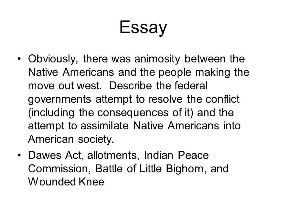 settling the west chapter ppt  essay