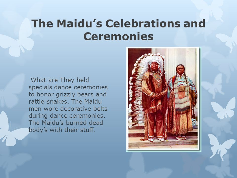 The Maidu Tribe A California Native American Tribe Ppt