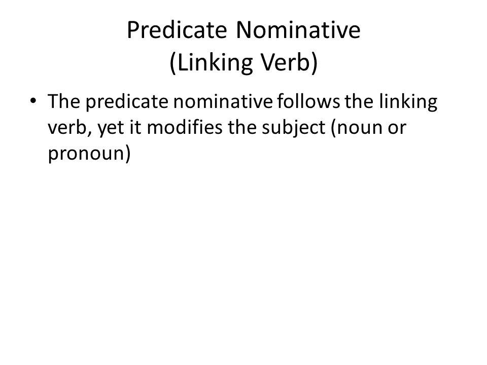Predicate nominative definition world literature senior semester i study guide ppt download stopboris Image collections