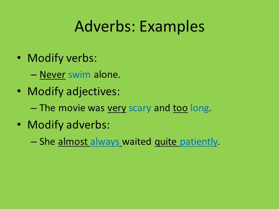 adjectives and adverbs list pdf