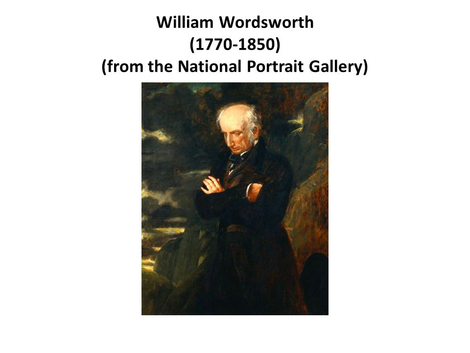 william wordsworths way of explaining his past My heart leaps up when i behold is a poem written by a famous nature poet william wordsworth in this poem, the poet recollects/remembers an experience of his childhood days and gives his emotion and feelings a meaning.