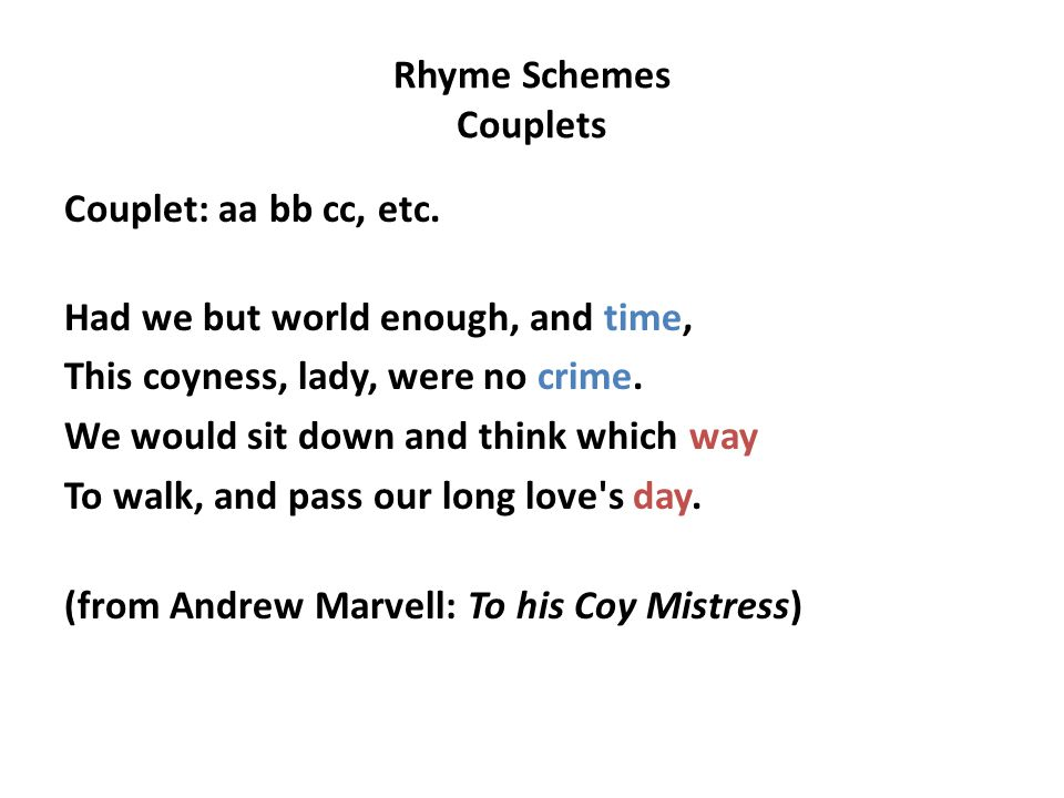 a poem of seduction in to his coy mistress by andrew marvell Andrew marvell - poet - a well-known politician, english poet and satirist andrew marvell held office in oliver cromwell's government and represented hull to parliament during the restoration.