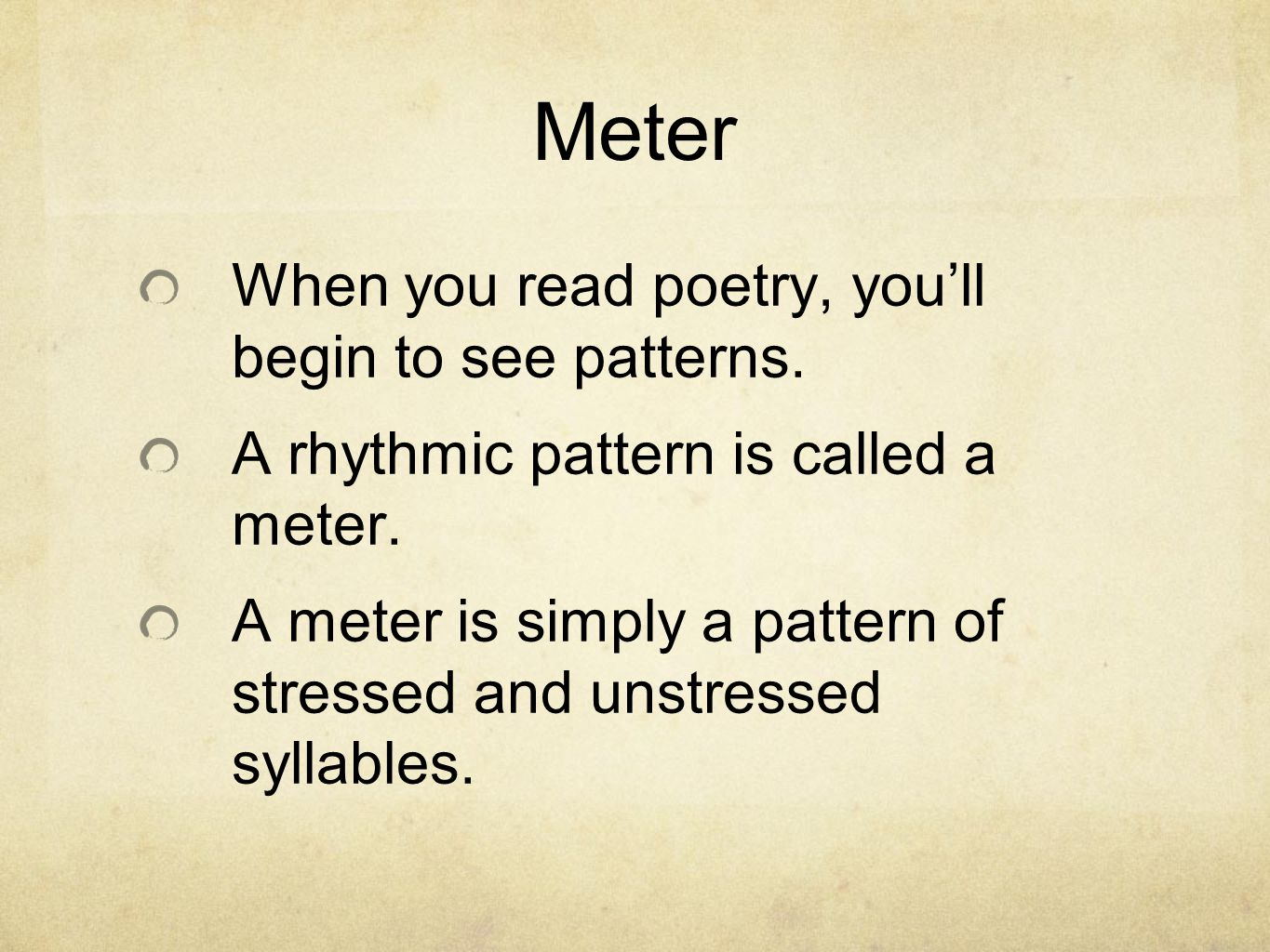 rhythm and meter the song of hiawatha henry wadsworth longfellow  5 meter