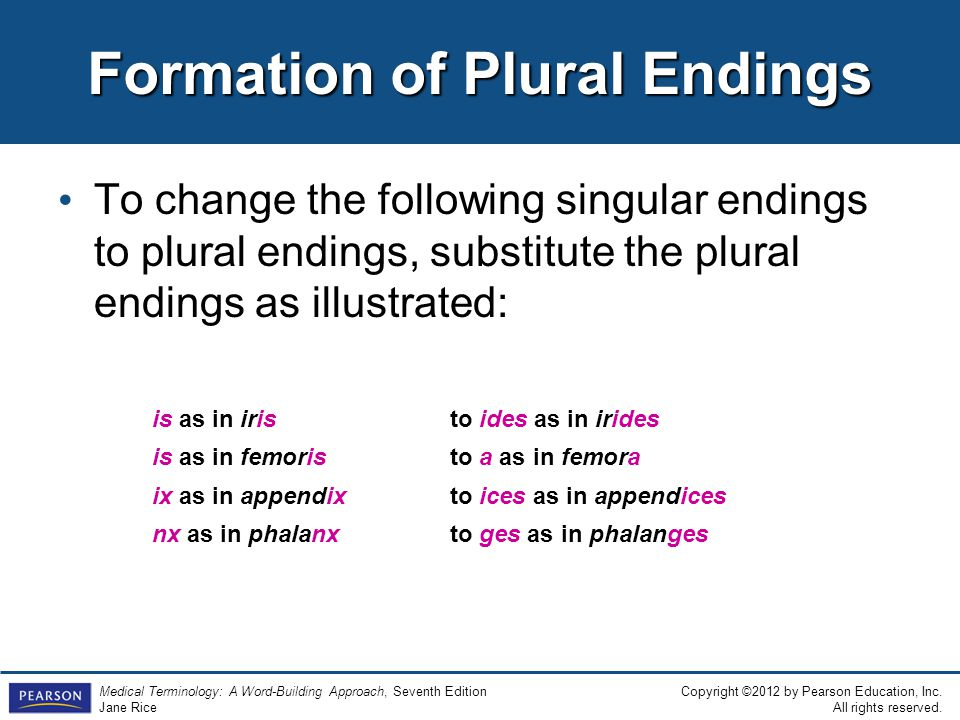 1 Introduction to Medical Terminology. - ppt video online download