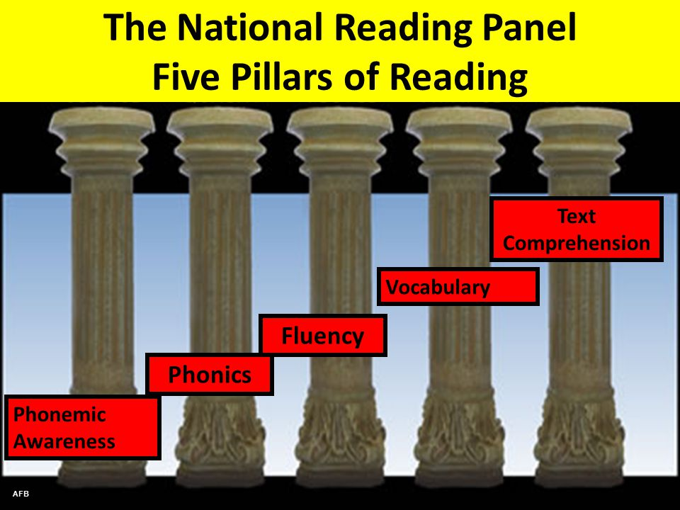 5 Pillars of a Strong Reading Program - My Learning ...
