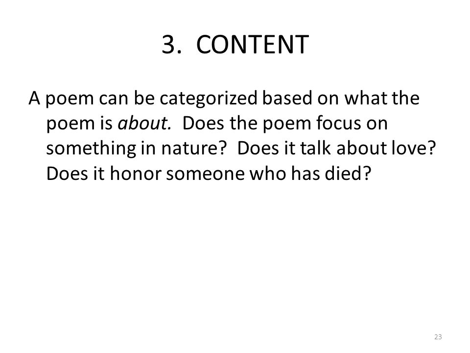 English I: Grammar & Composition Poetry Unit - ppt download