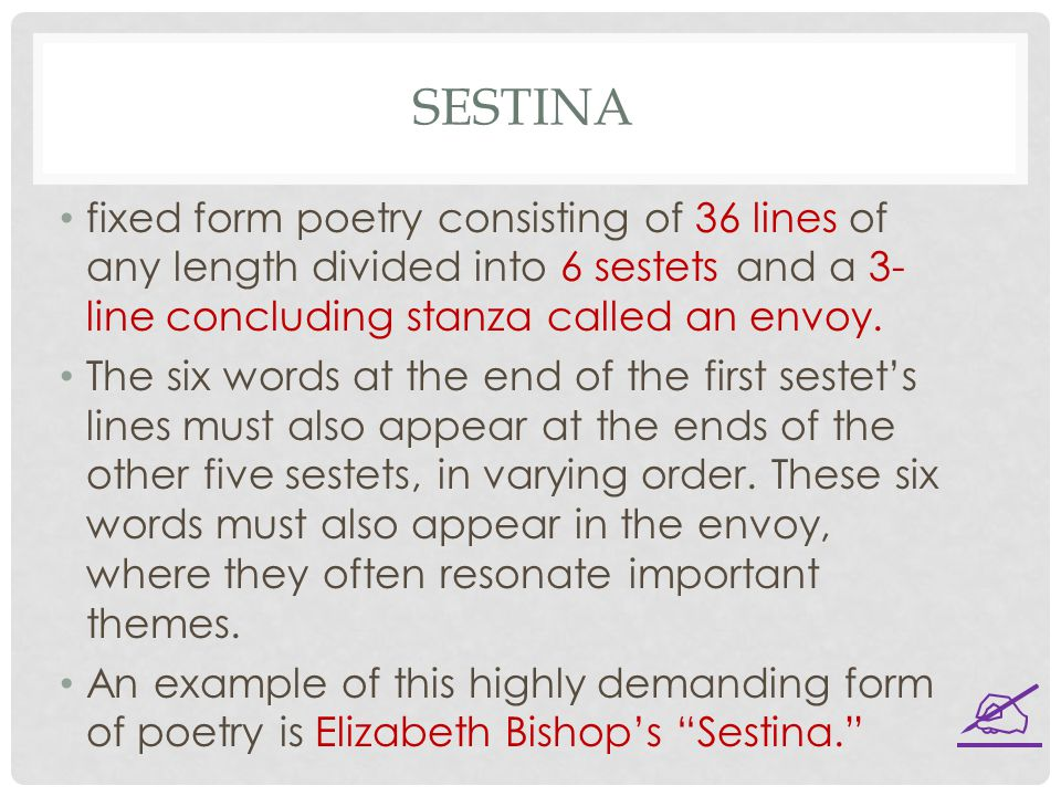 """sestina elizabeth bishop essay elizabeth bishop's """"sestina"""" is a captivating poem filled with depictions that take the reader to the valleys of sadness and unresolved grief the poem symbolizes the dynamics of an ongoing life as well as the powers of memory and an unsettled sense of loss."""