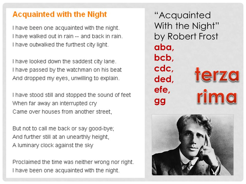 "a comparison of robert frosts acquainted with the night and dylan thomas do not go gentle into that  ""shall i compare thee to a summer's day"" robert frost, ""acquainted with the night"" dylan thomas, ""do not go gentle into that good night."