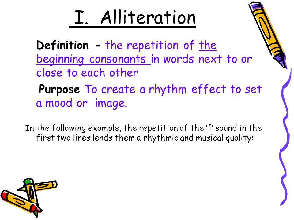 definition of alliterative verse Alliterative definition, pertaining to or characterized by alliteration: alliterative verse see more.