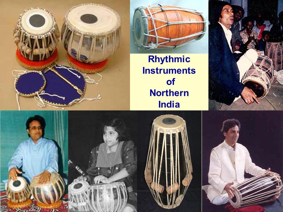Rhythmic Instruments of Northern India